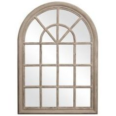 Privilege Vintage Wooden Wall Mirror | Overstock.com Shopping - The Best Deals on Mirrors