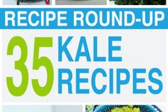 Our Largest Kale Recipe Round Up