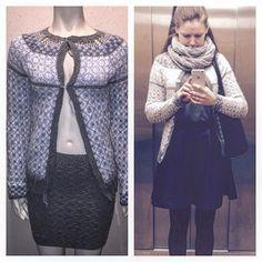 Wiolakofte nummer tre og #klompelompeskjørt  Mangler knapper og festing av tråder på første bildet // Wiola knitted jacket number 3. Knitted skirt from the #klompelompe book❤️ #kofte #knitstagram #knitting #strikkedilla #strikking #wiola #wiolakofta #knittedskirt