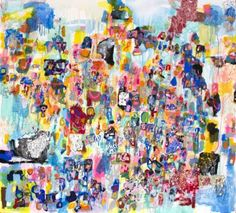 "Saatchi Art Artist Sarah Giannobile; Painting, ""evening landscape with black dog"" #art"