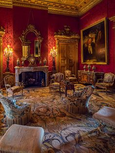 Waddesdon Manor Sitting Room, Buckinghamshire | One of many!… | Bob Radlinski | Flickr
