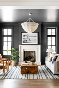 Design Room, Family Room Design, Home Design, Design Design, Salon Design, Design Ideas, Coastal Living Rooms, My Living Room, Living Room Decor