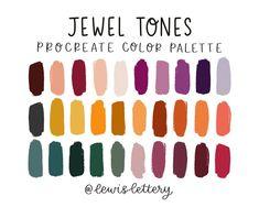 Fall Color Palette, Colour Pallete, Color Schemes, Color Palettes, Adobe Color Palette, Color Tones, Color Combos, Jewel Tone Colors, Jewel Tones