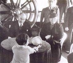 Gazi Mustafa Kemal Atatürk, Kızkardeşi Makbule Hanım ve Manevi Kızı Ülkü ile Ertuğrul Yatı'nda İstanbul Boğazı Gezisinde... 06 Haziran 1937