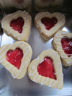 Jam Tarts for Valentines Bake Sale