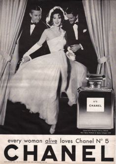 chanel no 5 1950s commercial