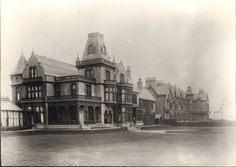 Staincliffe Hotel when still a private residence Northern England, Old Pictures, The Past, Illustrations, History, Photos, Antique Photos, Historia, Pictures