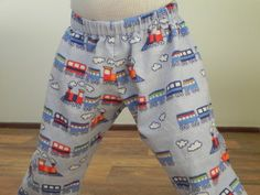 Perfect Pajama Bottoms - an easy DIY you'll want to make for your little one to snuggle up in.