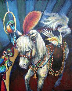 "DEE SABEAN: Fine Artist |  ""Kiki Trots"""