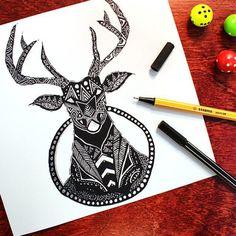 Que tal colocar a dupla Pen 68 e Point 88 pra criar os seus desenhos?   (Arte: @fabienbaker - Instagram)