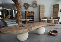 Bali wood interior  home decor