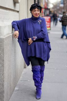 ADVANCED STYLE: Purple Rain