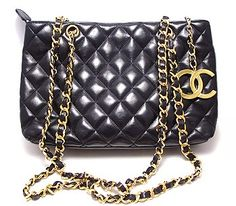 Yes, I guess you can buy me this double chained, soft quilted leather vintage Chanel purse in excellent condition.