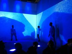 #Toriniadi - #ClubToClub, 8 novembre. Staffetta tra #fiere, #mostre, #presentazioni e #performances. #Immagini e commenti a caldo da #artisti, curatori e visitatori più o meno addentro, che a #Torino si passano il testimone..   #Immagine: #Jon #Hopkins, installazione performativa all'interno dei #Cantieri #OGR #Torino per Club to Club. Foto Stefano Lo Muzio
