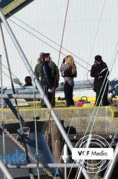 CaptainSwan on set 2/3/2014