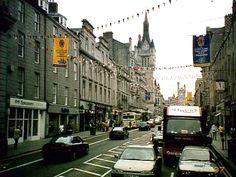 Aberdeen, Scotland - where I went my Junior year in college