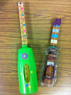 Garden Music; Growing Instruments | Gardens, Homemade and Musicals