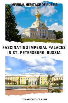 Are you interested in the history of the Romanovs, Russian imperial family? Take a tour of fascinating imperial palaces in St. Petersburg, Russia • Read the post to know more about the Romanovs' places to visit in St. Petersburg! #imperialrussia #theromanovs #russia #saintpetersburg