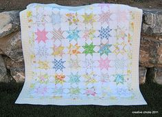 Creative Chicks: Vintage Stars Quilt - with block instructions