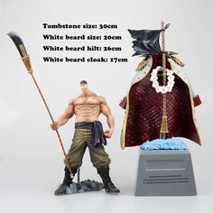 37.20$  Buy now - http://alifua.shopchina.info/1/go.php?t=32816270330 - 2017 Rushed New Arrival Unisex Model One Piece Beard Action Figure Scale Painted Edward Newgate Doll Pvc Garage Kit Toy Anime   #SHOPPING