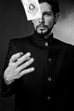 Francesco Addeo , illusionist / magician. © Attilio Brancaccio 2012 Photography   Portrait   Black and White   People  