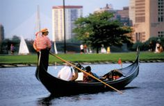 Boston Gondola Tours - Romantic Date Ideas & Places to Propose on the Charles River (Massachusetts, MA)