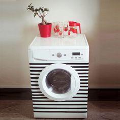 Machine à laver marinière