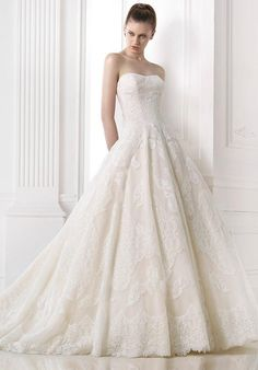 PRONOVIAS Melissa Wedding Dress - The Knot