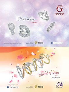 Gold Source Jewellery Ltd. #HKJE #Magazine #SpringSummer2016 #Advertisement #Jewellery #Diamond #FineJewellery
