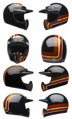 Bell Stripes Adult Moto-3 Off-Road Motorcycle Helmet Review