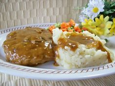 Make and share this Smothered Hamburger Steak recipe from Food.com.