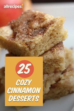 """25 Cinnamon Desserts to Keep You Cozy 