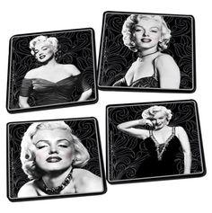 Marilyn Monroe Coaster Set