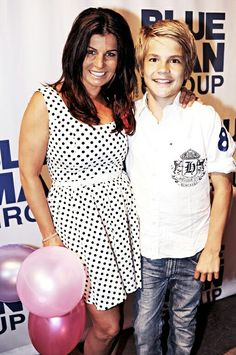 Carola et son fils Amadeus