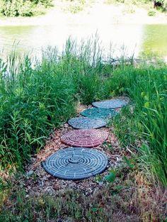 Turn an old garden hose into a mat | BC Sands Blog