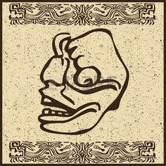 guerreros aztecas rostros - Google Search
