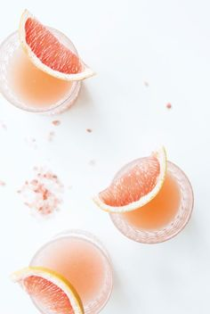 grapefruit margaritas.
