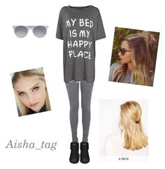 """""""Без названия #27"""" by aisha-tag ❤ liked on Polyvore featuring Boohoo, Yves Saint Laurent, Prism and ASOS"""
