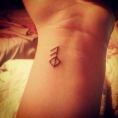 My new Viking rune tattoo. It means love.