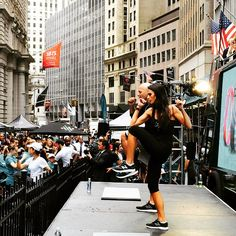 Pin for Later: Allow Jordana Brewster to Be Your Healthy Fitness Inspiration When She Worked Out on Wall Street