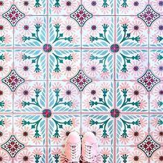 Jielin Washi Tape Talavera Tiles