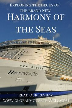 Harmony Of The Seas  Take A Look Inside At The Deck Plans