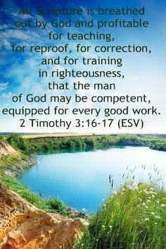 II Timothy 3:16-17