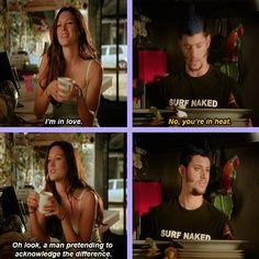 [SET OF GIFS] Jensen Ackles as Priestly and Danneel Harris (Ackles) in 10 Inch Hero.