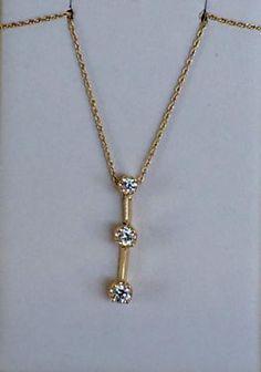 14K Yellow Gold Three Diamond Drop Pendant With 14K Yellow Gold Chain   Three Diamonds   .37 Carat t.wt.  $949  Harold's Diamonds and Jewelry  1228 W. Main St.  Lewisville, TX 75067  Harold's buys and sells estate jewelry!  www.haroldsjewelers.net  Read more: http://dallas.ebayclassifieds.com/jewelry-watches/lewisville/14k-yellow-gold-three-diamond-drop-pendant-with-14k-yellow-gold-chain/?ad=39813506#ixzz3czSpJ8UR