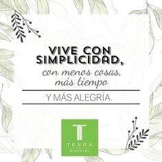 Hay 20 acciones que hacen de #TerraBiohotel una empresa sostenible. Cada una es un eslabón de la cadena de sostenibilidad. Conoce con nosotros de que se trata:  1.Simplicidad: Menos cosas, más tiempo, más alegría. #tienesunacitaconelplaneta #savethedatewithplanetearth #terrabiohotel  #hotelescolombia #hotelecológico #turismosostenible #ecoturismo #ecoturismocolombia #slowlife #colombia