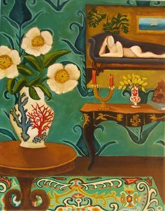 Love this by Catherine Nolin. Her paintings are so beautiful and colorful.