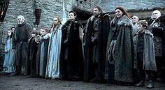 Stark Family, Game of Thrones - HBO
