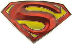 Officially Licensed Dc Comic Superman Returns Red and Yellow Belt Buckle Batman Superman Comic, Superman Logo, Superman Stuff, Superman Tattoos, Comic Art, Comic Books, Comic Strips, Belt Buckles, Dc Comics