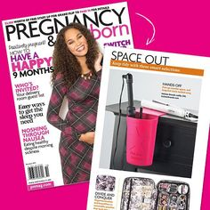 """Hey busy moms! I know what it's like to try to find time to get ready in the morning. When my daughters were 2 ½ years & 3 mo.'s old I went back to work after maternity leave and found I needed a helping hand in the morning. That """"helping hand"""" I named the Hot Iron Holster.  Thanks @pnmag for the shout out! #holsterbrands #hotironholster #pnmag"""
